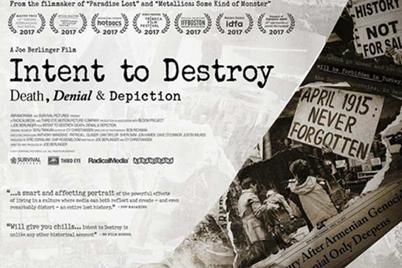 Фильм Джо Берлингера о Геноциде против армян номинирован на премию «Эмми»