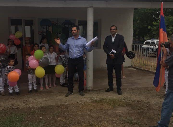 В селе Сонасар Кашатагского района появился новый детский сад