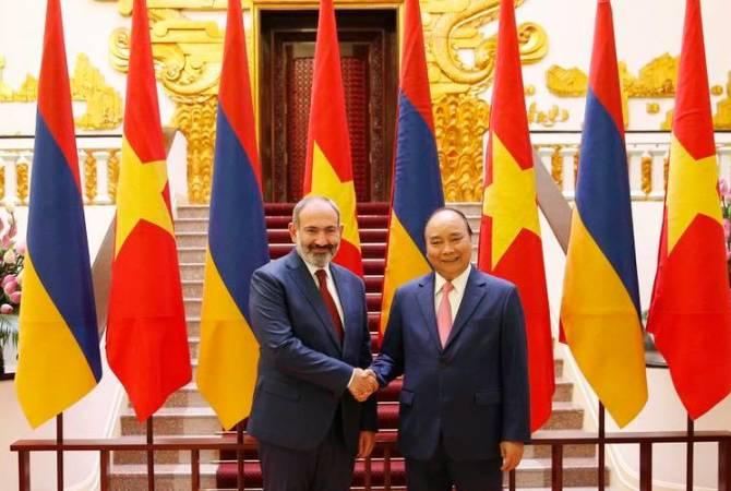 Никол Пашинян находится с государственным визитом во Вьетнаме