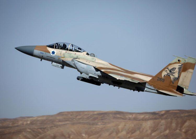Израильские ВВС снова атаковали Сирию