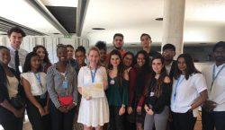 Les jeunes stagiaires du Conseil des droits de l'homme veulent en savoir plus sur l'Arménie Occidentale