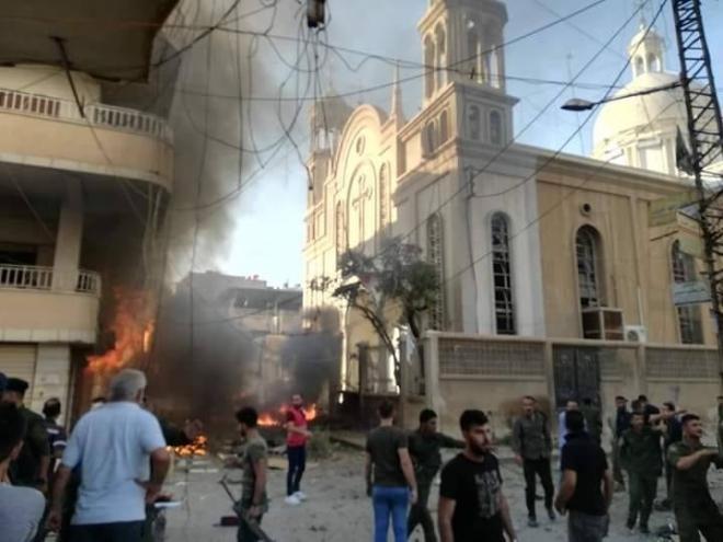 Kamışlı'daki Surp Astvadzadzin Kilisesi terörün hedefi