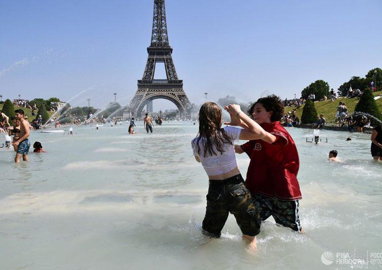 Fransa'da ilk kez hava sıcaklığı 46 dereceye ulaştı