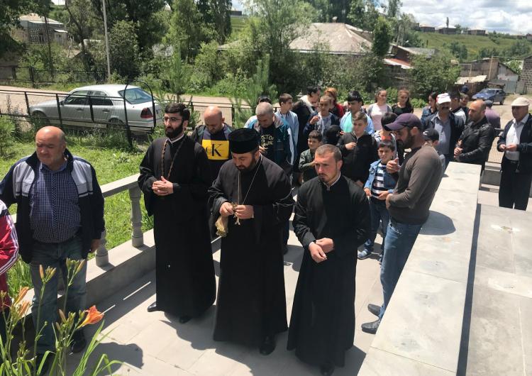 Мероприятия в селе Куликам Ахалкалакского района