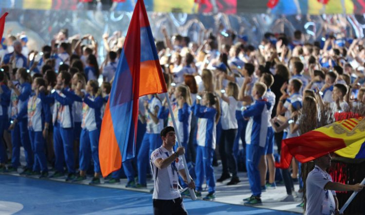 Ermenistan Cumhuriyeti sporcuları, Avrupa Oyunlarında 5 altın, 3 gümüş ve 3 bronz madalya kazandı