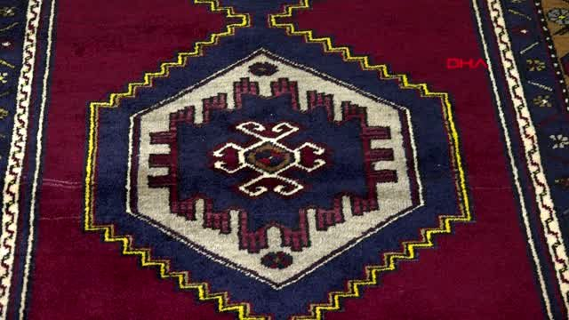 Тысячелетние ковры ручной работы  в Кесарии находятся под угрозой исчезновения