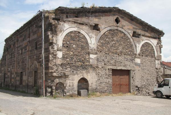 The church of the province of Tomarza in Kesaria is completely abandoned