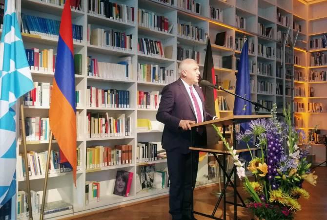 Резиденция почетного консула Республики Армения открылся в Баварии, Германия