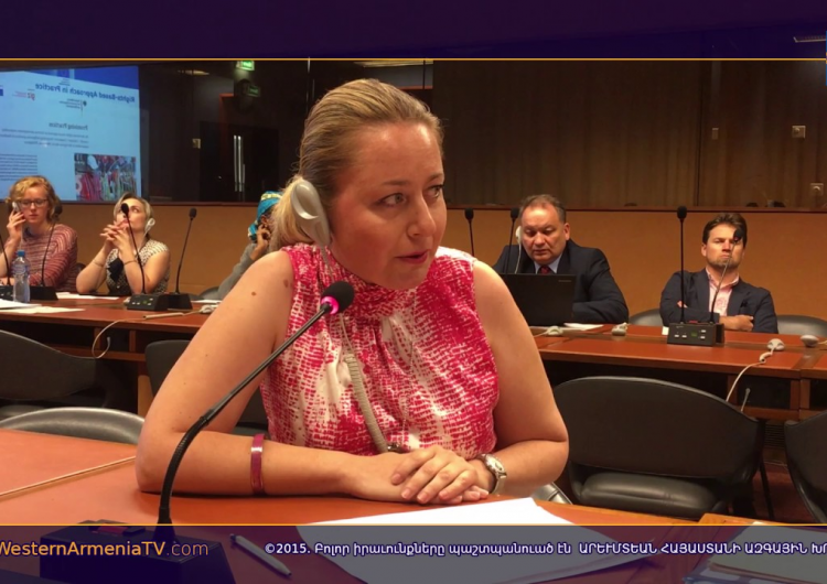 Выступление Лидии Маркосян на 41-й сессии Совета по правам человека