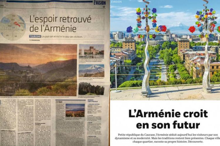 Ermenistan Cumhuriyeti İsviçreli turistler için çekici hale geliyor