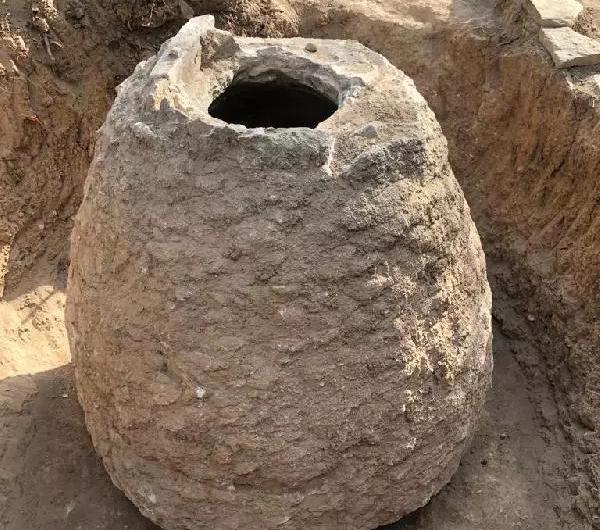 Batı Ermenistan'ın Kharberd- Elazığ'da 250 yıllık tahıl ambarı bulundu