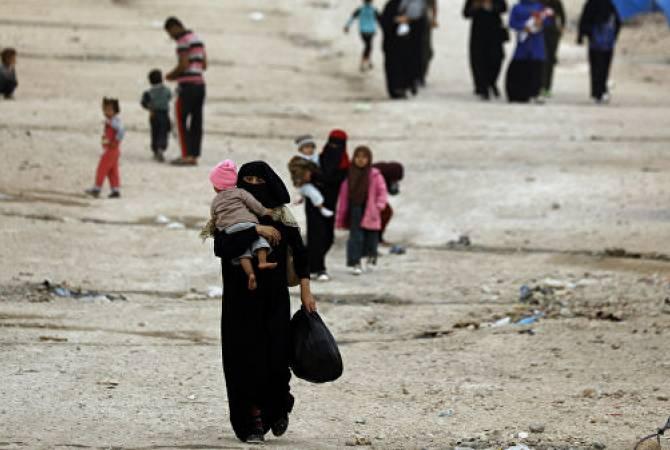 За сутки в Сирию вернулись 1700 беженцев