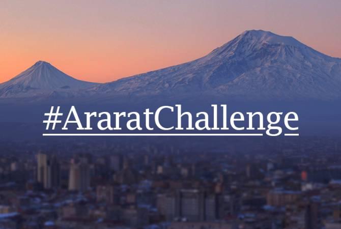 Aurora İnsani Yardım Girişimi #AraratChallenge adlı dünya çapındaki bir hareketi başlattı