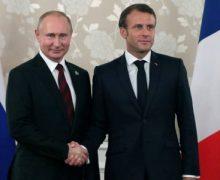 Ֆրանսայի եւ Ռուսաստանի նախագահները քննարկեր են ԼՂ հիմնախնդիրը