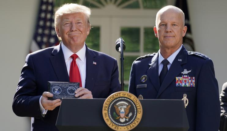 ABD'de uzay kuvvetleri resmen işbaşında