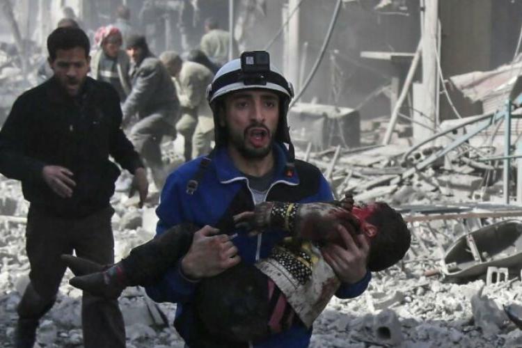 Halep'teki yerleşim mahallesinde patlama sonucu bir çocuk hayatını kaybetti