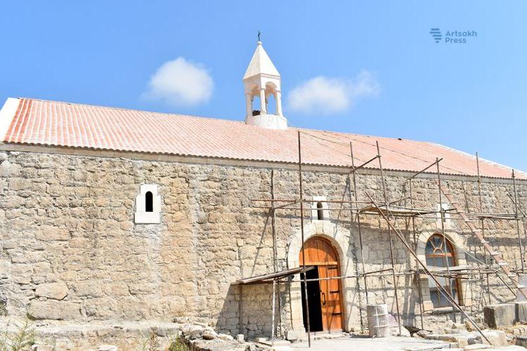 Восстановление церкви Святого Иоанна в Тоге