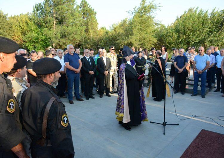 В военном пантеоне «Ераблур» отслужили мессу в память о бойцах АСАЛА
