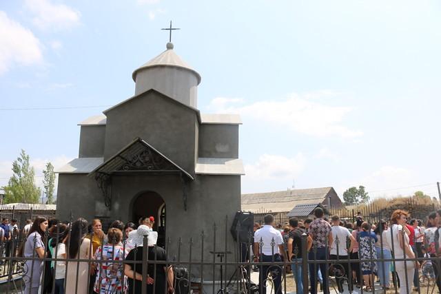 Կորխի մէջ տեղի ունեցեր է Սուրբ Կիպրիանոս մատուռին բացումը