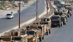 Սուրիոյ օդուժը հարուածներ հասցուցեր է թրքական ռազմական մեքենաներու շարասիւնին