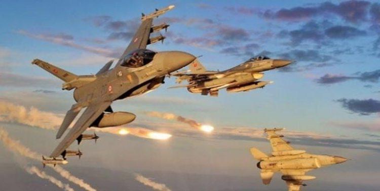 Турецкие ВВС снова разбомбили Северный Ирак