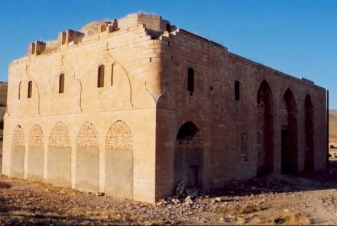 Urfa'daki Surp Astvatsatsin Ermeni Kilisesi yok ediliyor