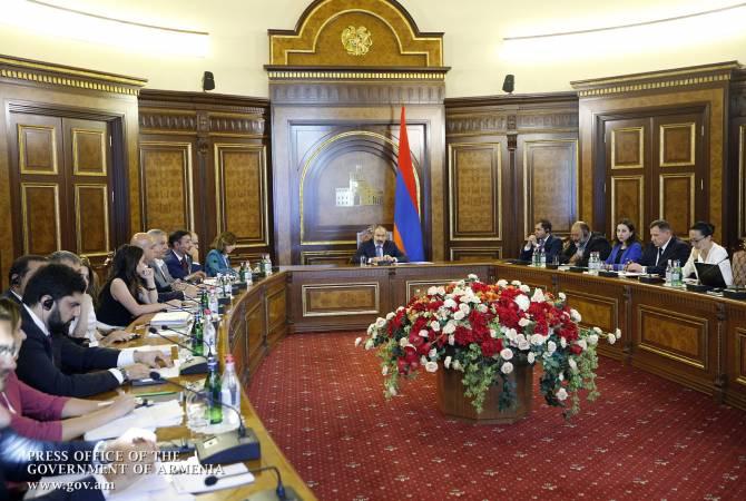 """Ermenistan Cumhuriyeti Başbakanı Paşinyan: """"Elard"""" uzmanlarıyla gerçekleşen video konferansı sırasında yeni durumlar ortaya çıktı"""