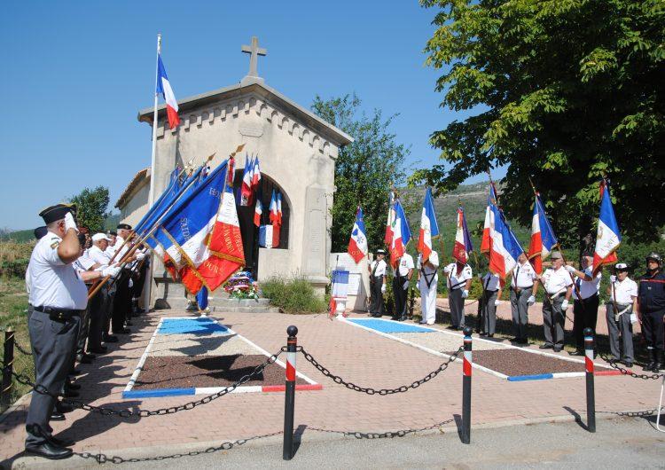 Cérémonie de St Vallier de Thiey