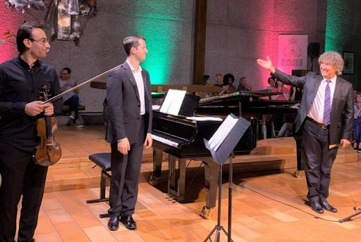 Ermeni Klasik Müzik Akşamı, İsviçre'deki Ermenistan Cumhuriyeti Büyükelçiliği himayesinde gerçekleşti