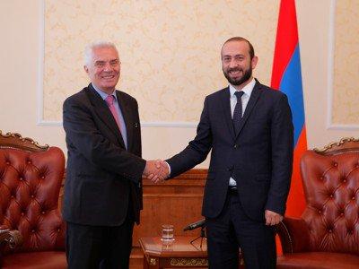 ԵւրոՄիութիւնը Հայաստանի համար կարեւոր գործընկեր է․ Արարատ Միրզոյեան