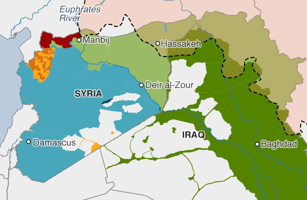 Турция и США договорились о зоне безопасности в Сирии