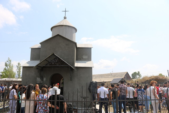 Korkh köyünde Kutsal Kiprianos Şapeli'nin açılışı gerçekleştirildi