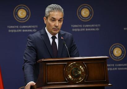 Türkiye Dışişleri Bakanlığı Sözcüsü ABD'yi tehdit ediyor
