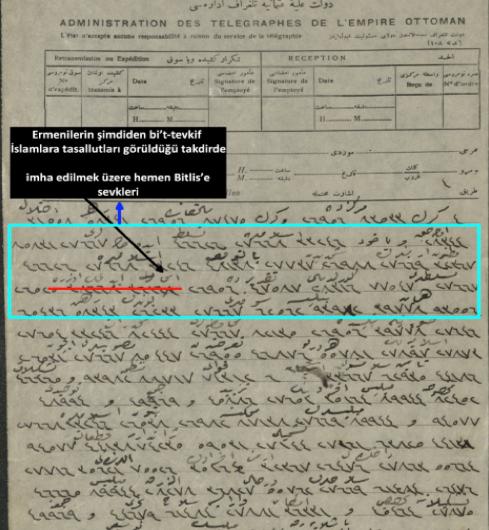 Ermenilerin imha kararı: 1 Aralık 1914
