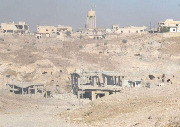 Suriye ordusu tarafından kurtulan Khan-Şeyhun'dan ilk görüntüler