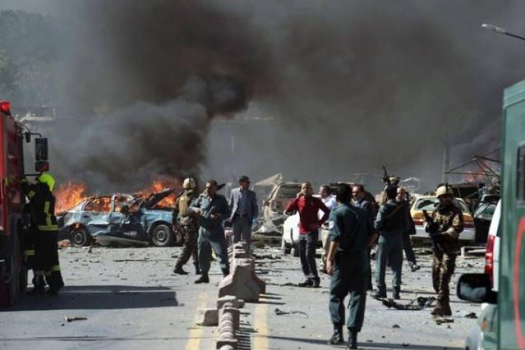 Kabil'de meydana gelen ağır patlamada en az 95 kişi yaralandı