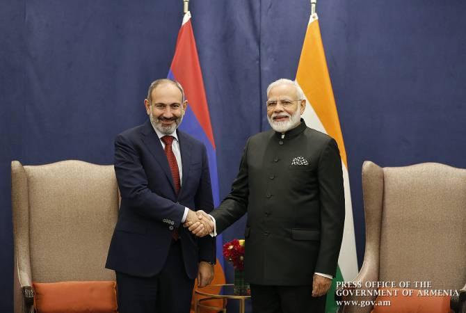 Նիկոլ Փաշինեանը Նիւ Եորքի մէջ հանդիպում ունեցեր է Հնդկաստանի վարչապետին հետ