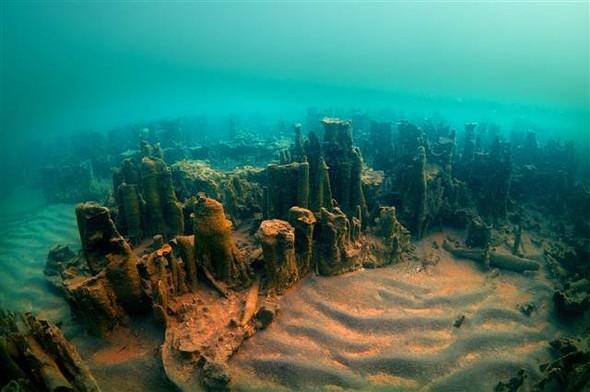 Վանայ լճին մէջ նկարահանուեր են ամենամեծ միկրոբիալիտները