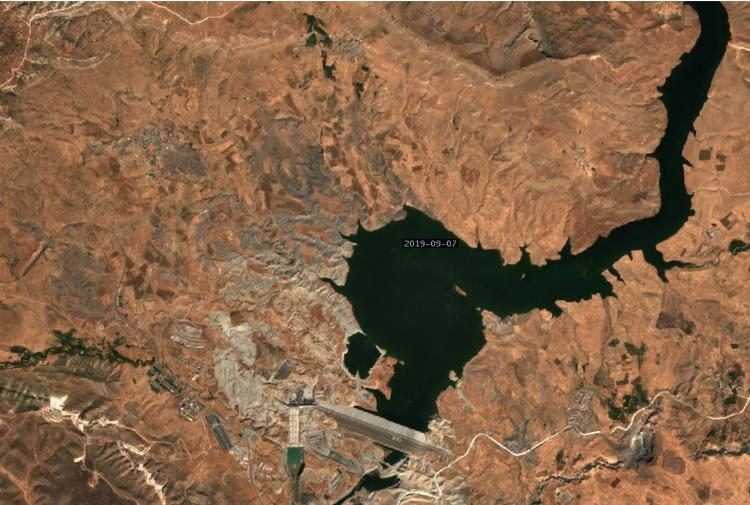 Новые спутниковые снимки Хасанкейфа
