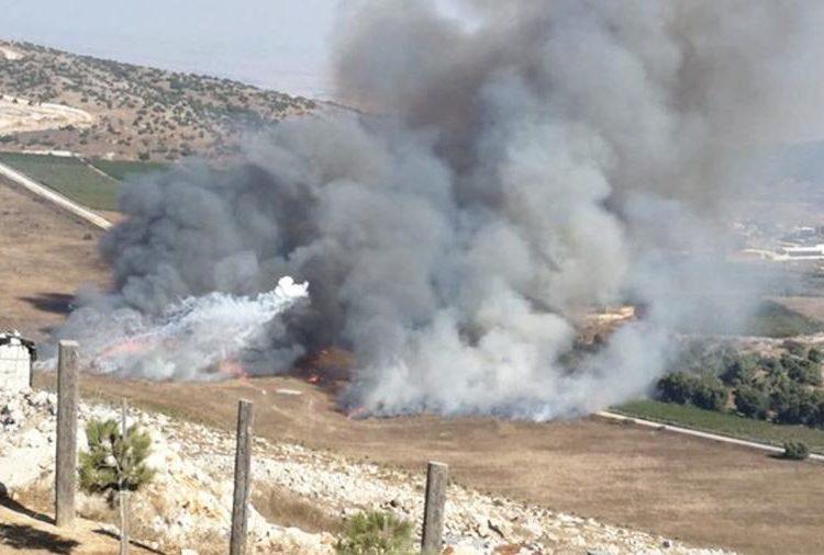 Լարուած իրավիճակ Լիբանանի եւ Իսրայէլի սահմանագիծին