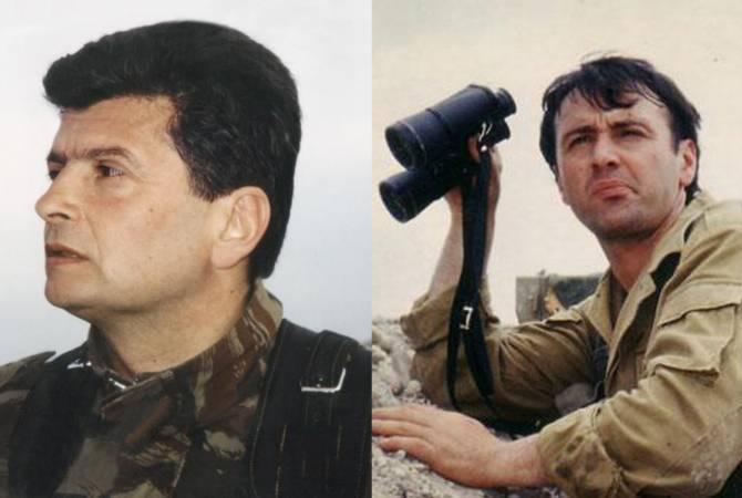 Leonid Azgaldyan ve Vladimir Balayan'a, ölümden sonra üst düzey Artsakh Kahramanı ünvanı verildi