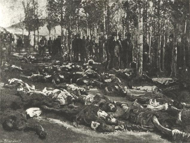 1895 թուականի Համիդեան ջարդերուն կարափափախներու դերը