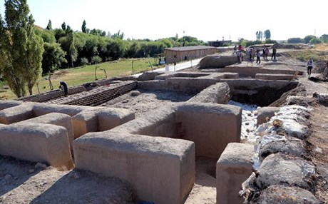 Интересные находки во время раскопок Ване