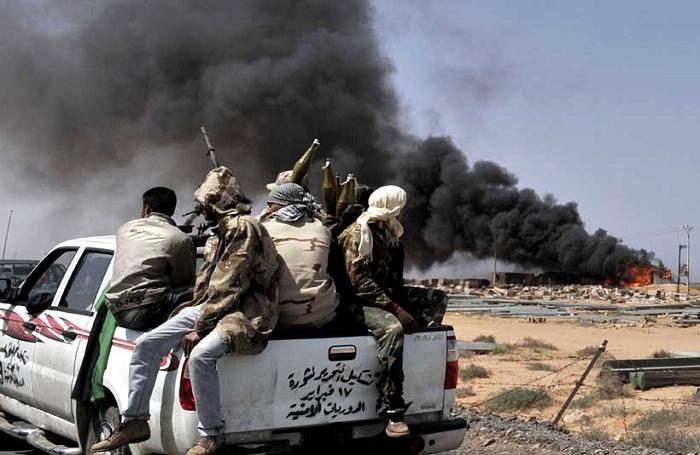 Террористы морским путем перемещаются из Идлиба  в Ливию