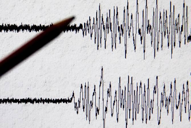 В Армении зарегистрировано землетрясение магнитудой 4,8