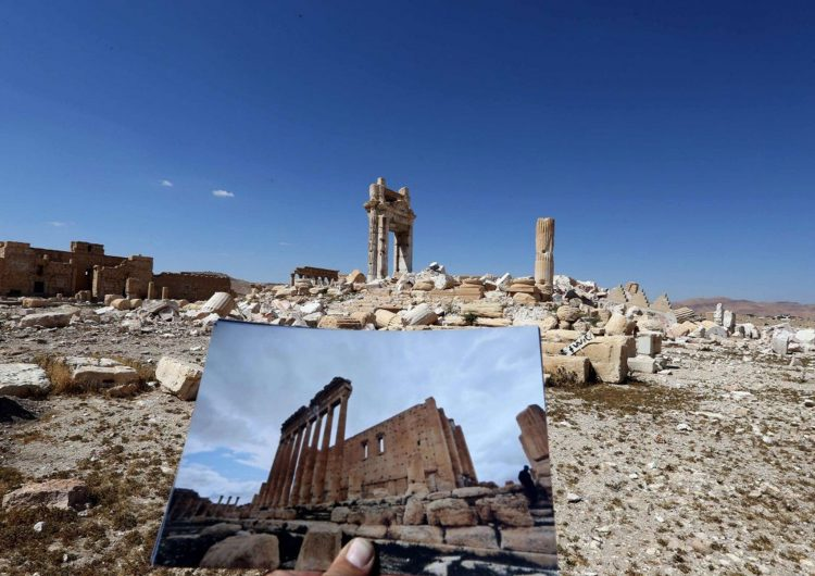 Rus uzmanlar Palmira'ya hareket etti