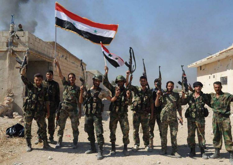Сирийская армия увеличивает свое присутствие в западном Алеппо