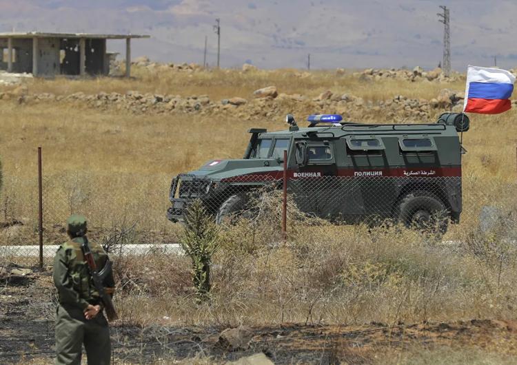 Военная полиция РФ в Сирии провела патрулирование территорий под Манбиджем