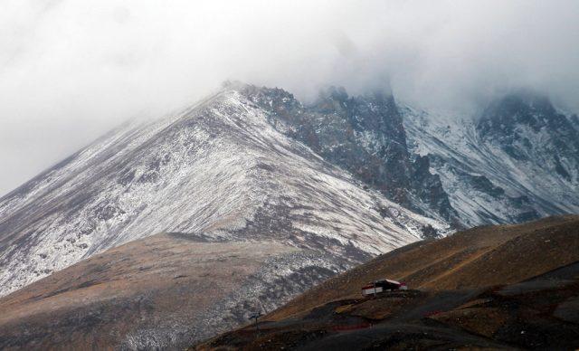 Ալադաղ (Տաւրոսի լեռնաշղթայ) սարի վրայ ձիւն տեղացեր է