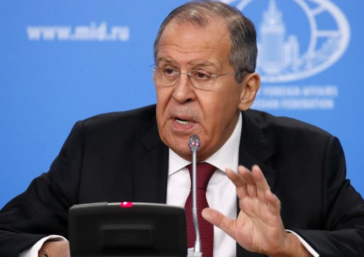 Лавров оценил идею НАТО о международном контроле в Сирии